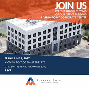 Grand Opening Corporate Center Miramar