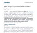 FINRA Files New Rules Governing Member Payments to Unregistered Persons