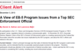 A View of EB-5 Program Issues from a Top SEC Enforcement Official
