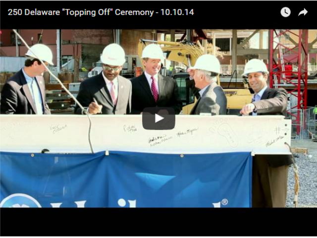 "250 Delaware ""Topping Off"" Ceremony - 10.10.14"