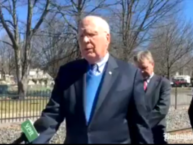 Sen. Patrick Leahy, D- VT, answers questions about EB5 fraud allegations surrounding Jay Peak resort owner Ariel Quiros and President and CEO Bill Stenger.